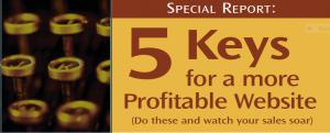 5 Keys for a More Profitable Website
