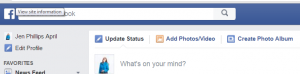Facebook search bar can help you find your ideal client.
